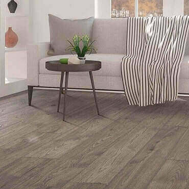 Anchor Grey Oak Laminate Flooring Feature