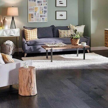 Midnight Maple Hardwood Floor for Home Depot Feature