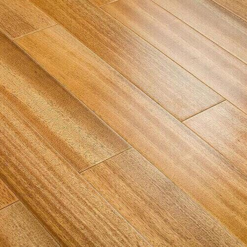 Natural Oiled African Teak Hardwood Flooring 02