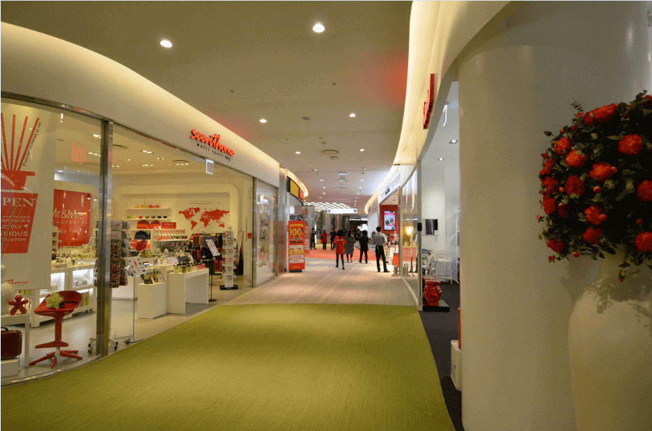 Shopping Mall Floor Project 02