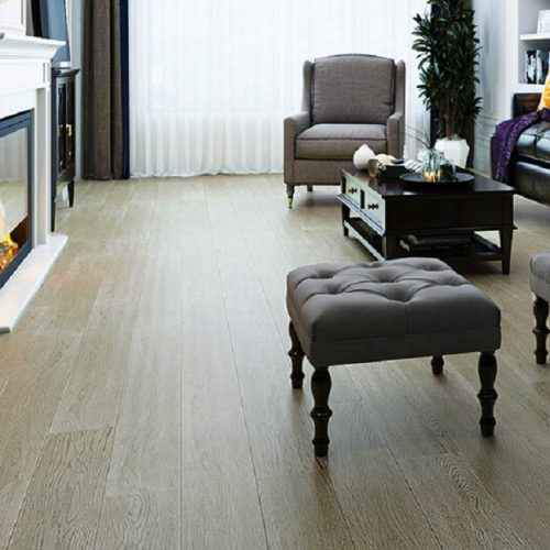 Customized White Oak Hardwood Flooring 01