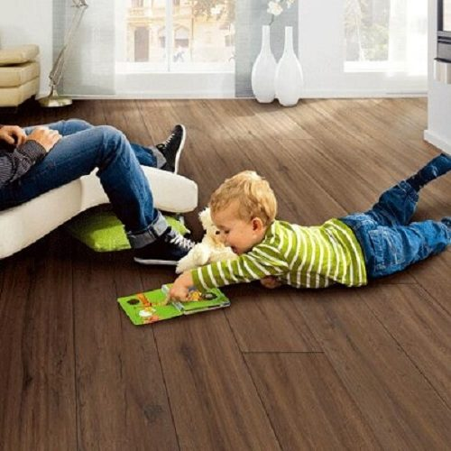 Kid Friendly Slip Resistant Cork Flooring